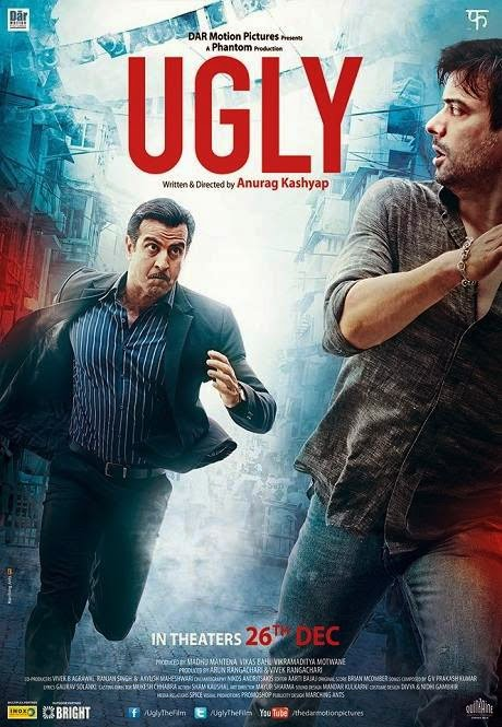 Poster Of Hindi Movie Ugly (2014) Free Download Full New Hindi Movie Watch Online At alldownloads4u.com