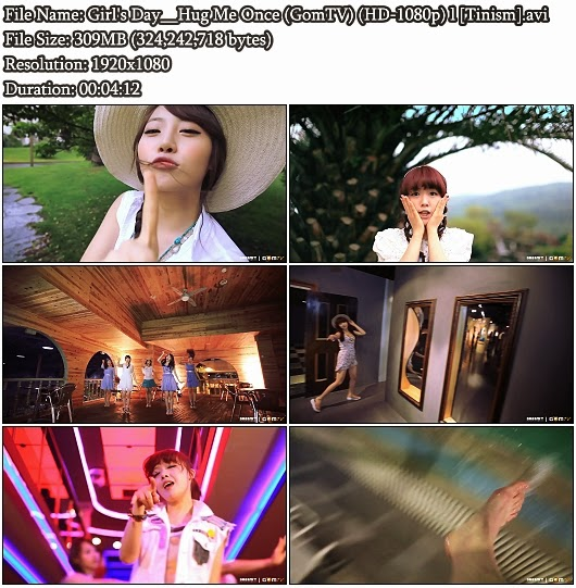 Download MV Girl's Day - Hug Me Once (GomTV Full HD 1080p)