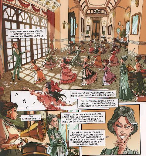 Steampunk voir le sujet bd princesse sara - Voir princesse sarah ...