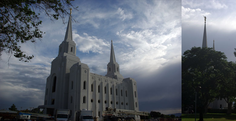 Brigham City Utah Temple, July 25, 2011