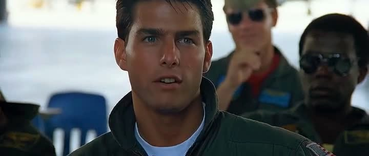 Screen Shot Of Hollywood Movie Top Gun (1986) In Hindi English Full Movie Free Download And Watch Online at Alldownloads4u.Com