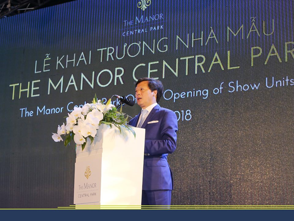 Ông Vũ Quang Hội – Phát biểu khai trương nhà mẫu