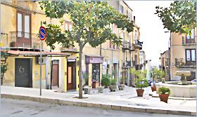 Sizilien - Corleone - Piazza Nascè.