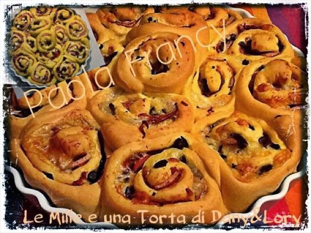torta di rose salata... sofficissima - con il bimby