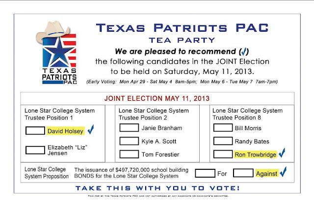 Montgomery County Texas Ballot Propositions