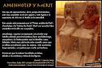 Estatua de Amenhotep y Merit