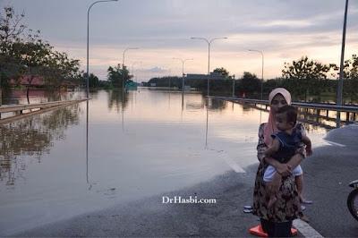 Banjir besar di Kedah pada 2010 melibatkan 15000 mangsa banjir