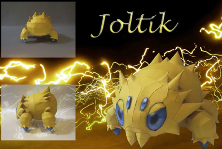 Pokemon Joltik Papercraft