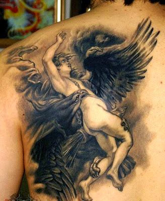 amazing angel tattoos