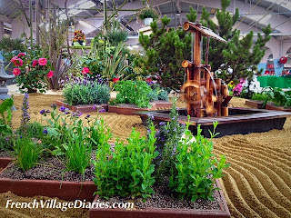 French village diaries Niort Printemps aux jardins garden show