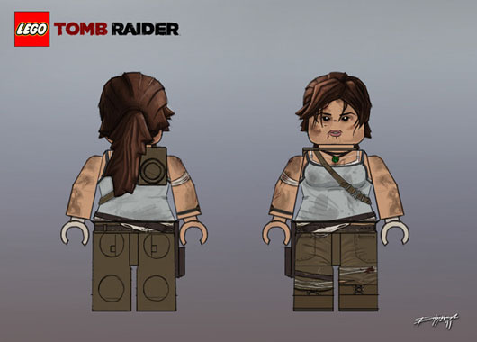Tomb Raider Lara Croft Playmobil