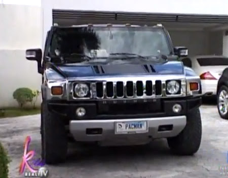 Kris TV Manny Pacquiao new Mansion tour Video   Manny Pacquiao   Hummer cars