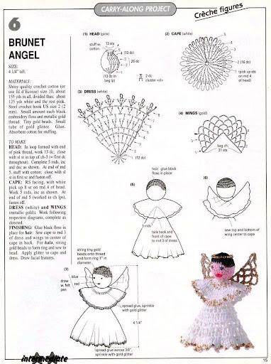 Angeles navideños 6%2520brunet%2520angel