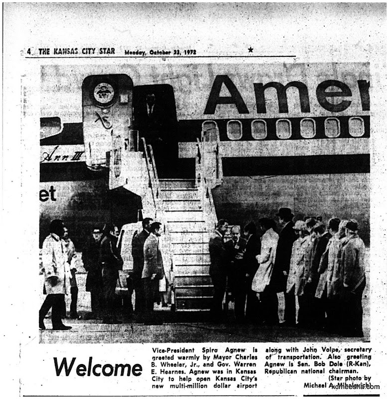 Old Newspapers: Kansas City International Airport Dedication