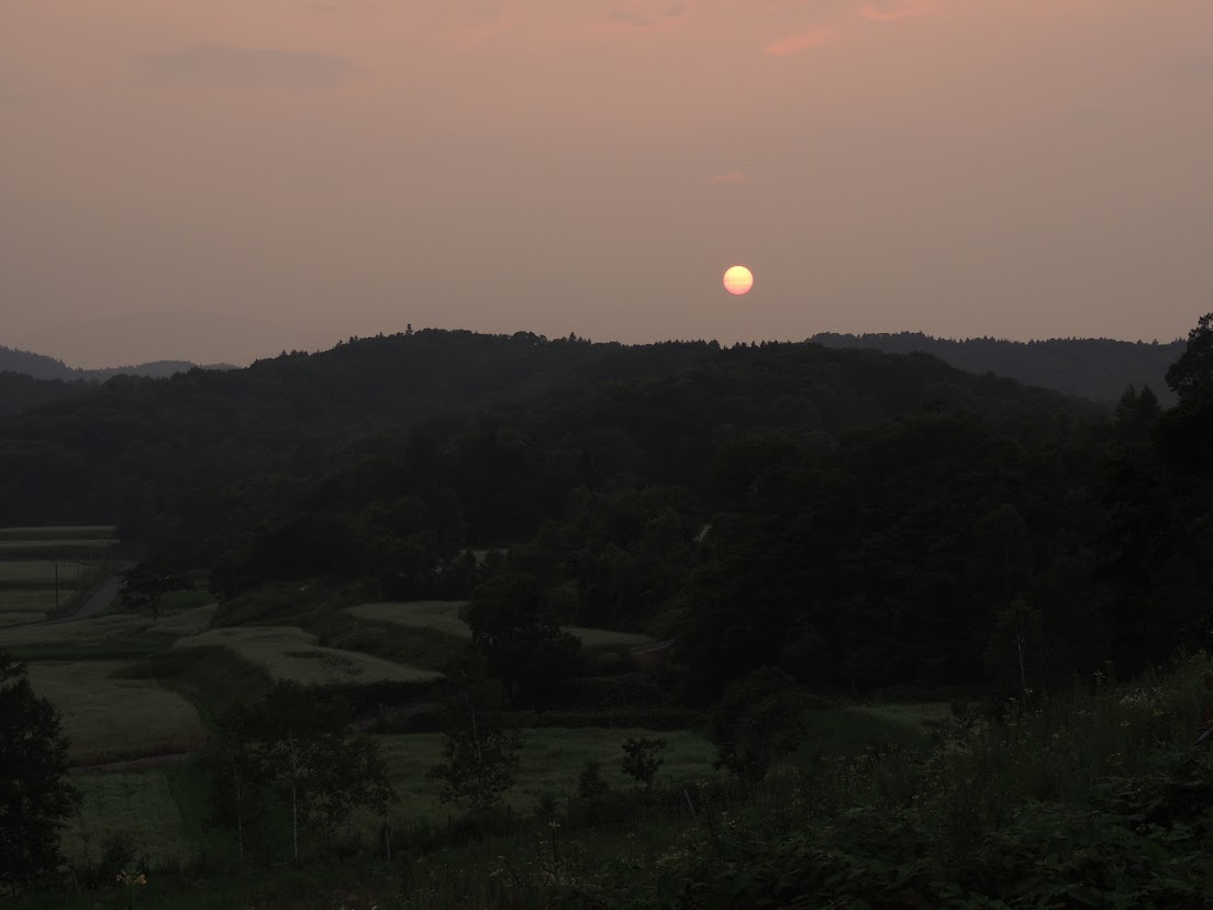 夕方の空(6)