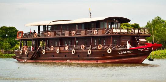 Crucero Mekong delta Can tho -Chau doc -Phnom penh