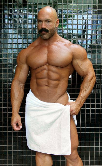 Oiled Up Muscle Worship