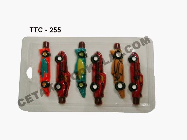 Cetakan Coklat TTC254 Mobil