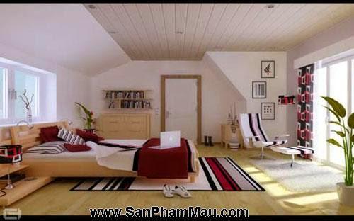 Các mẫu thiết kế nội thất phòng ngủ-5