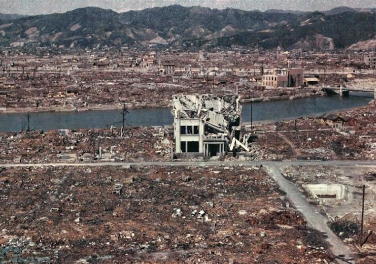 фото бомбардировка хиросимы