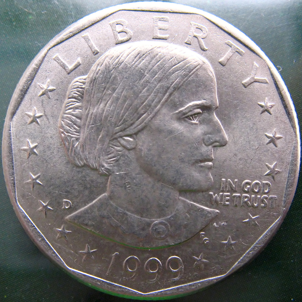 viral history  susan b anthony dollar still not smiling