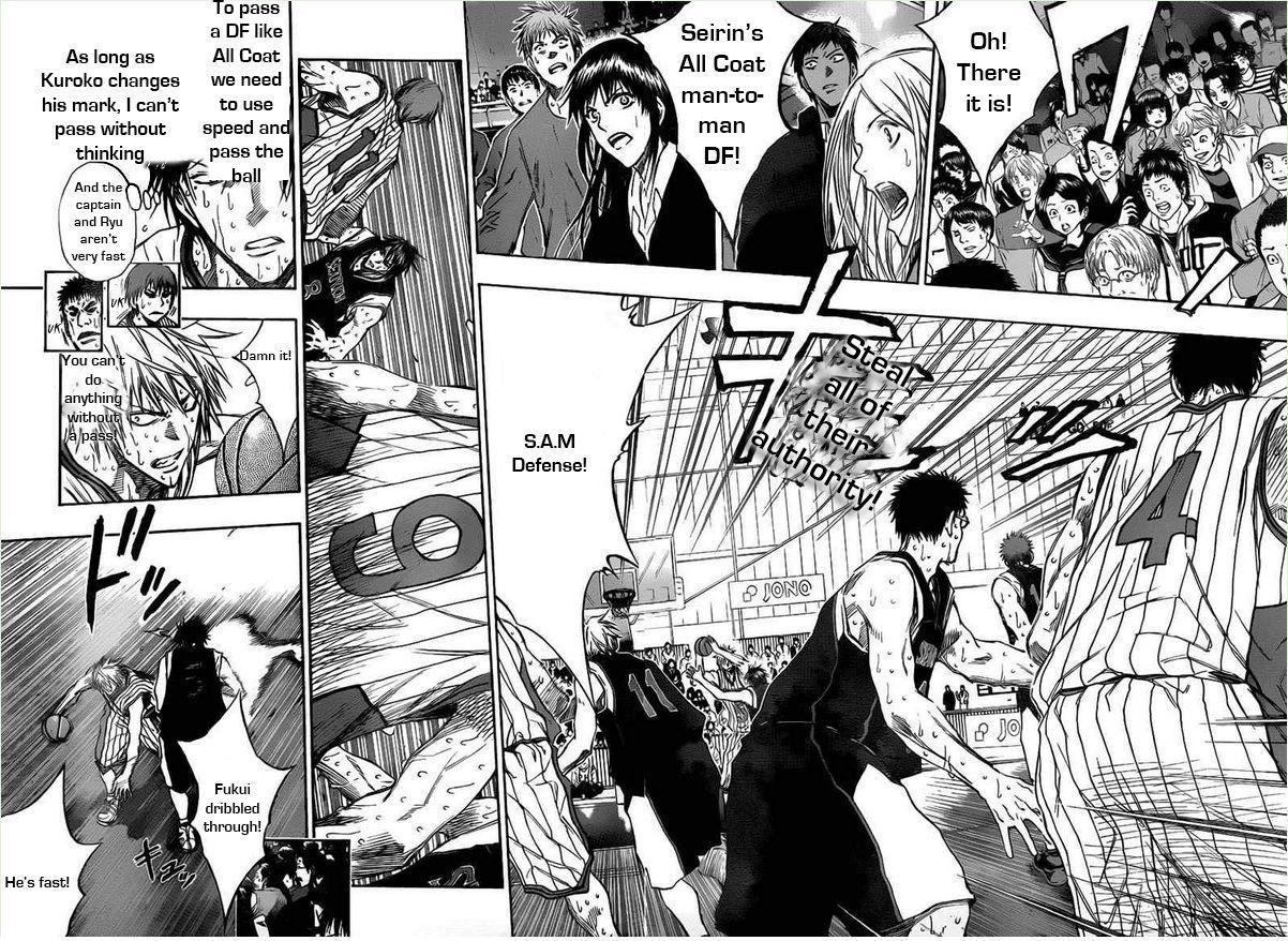 Kuroko no Basket Manga Chapter 160 - Image 02-03