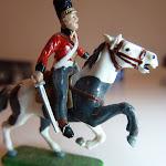 Napoleonic Scots Greys' British Cavalry von ESCI