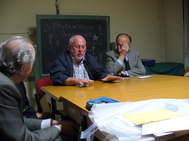 Padre Ugo Montagner nell'ultimo viaggio a San Donà di Piave