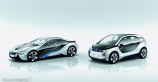 BMW officialy unveils i3 and i8 Concepts
