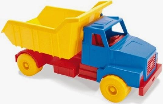 Chiếc Xe tải 45 cm có 3 màu rất cơ bản