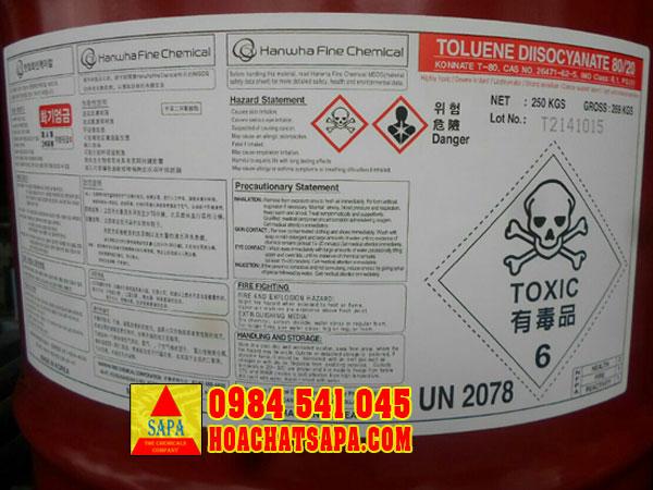 Hóa Chất SAPA   Toluene Diisocyanate (TDI)