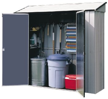Arrow Sheds CL72 7-Feet by 2-Feet Steel Storage Locker