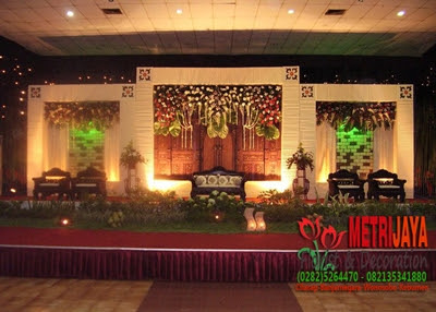 wedding decoration / dekorasi pengantin banyumas