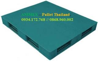 Pallet nhựa Thái Lan nhập khẩu