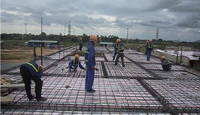 Tuyển 9 nam lao động làm công việc gia công cốt thép tại Aichi Nhật Bản