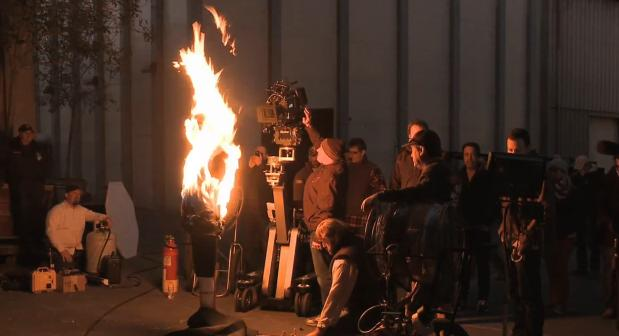 Behind The Scenes Look At The Making Of BlackBerry 10 Super Bowl Commercial