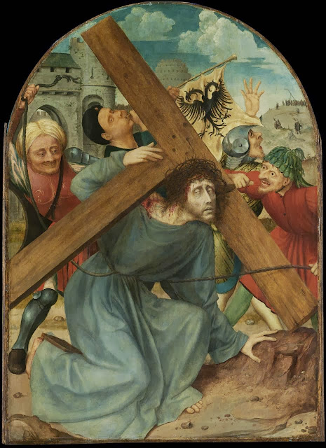 Quentin Massys - The carrying of the cross