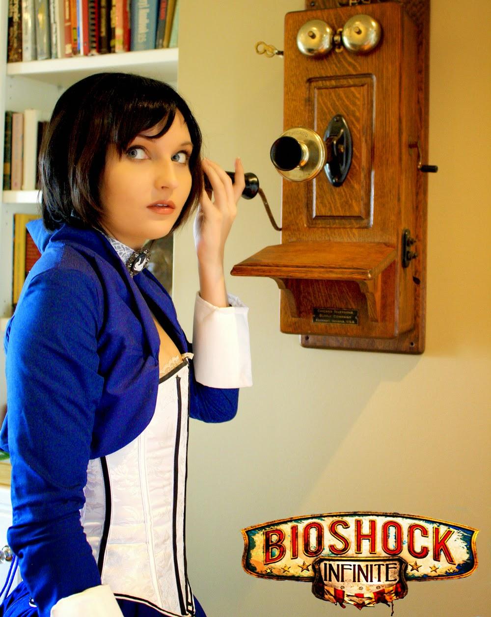Bộ cosplay Bioshock Infinite ấn tượng của Renee Rouge - Ảnh 4