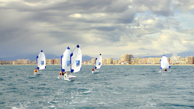 Stage voile optimist Canet_en_Roussillon