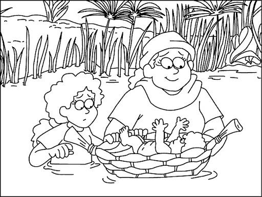 Niños: Moisés y la zarza ardiendo!!!