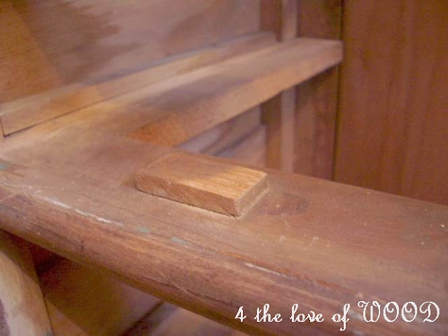 how to add drawer stops to old dresser 1