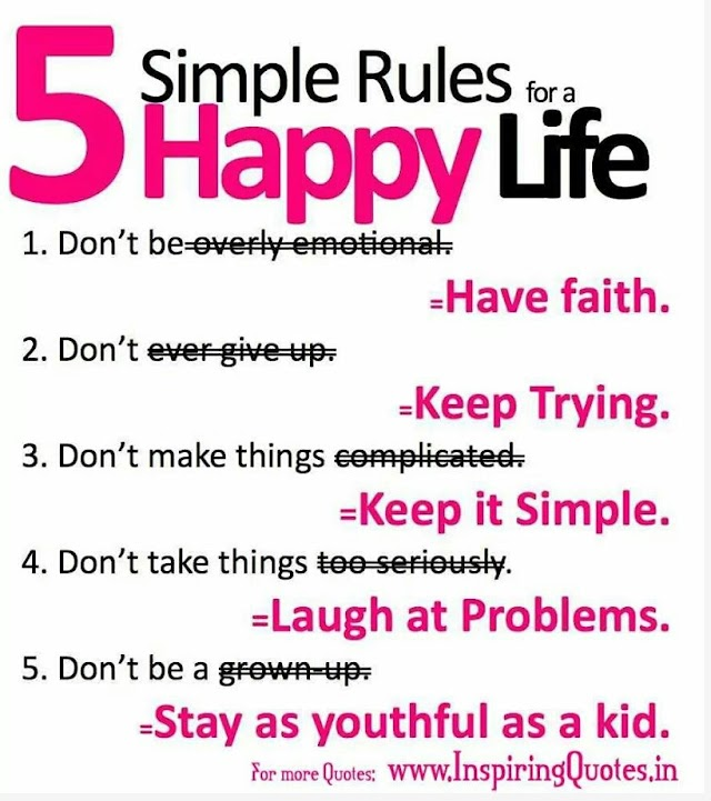 WW~Simple Rules for the Happy Life~