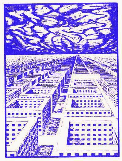 Ilustración de Michel Ende para 'Momo'