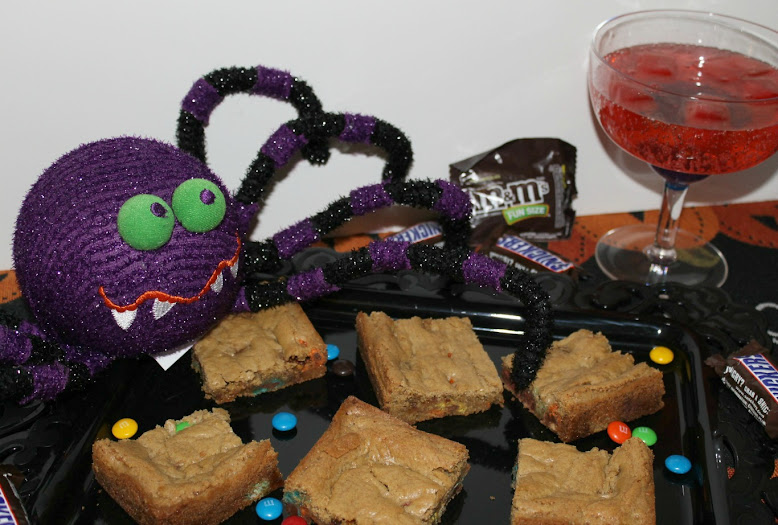 Halloween Celebrations with Vampire Juice and a Blondie Recipe #shop #SpookyCelebration