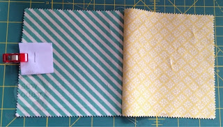 First two squares sewn