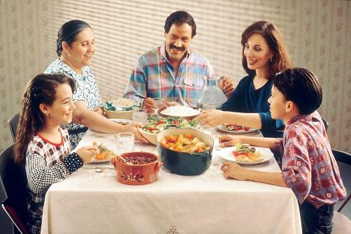 Image result for family eating