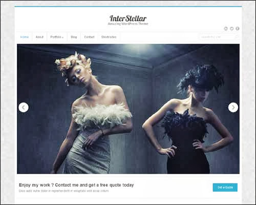 theme wordpress intersellar