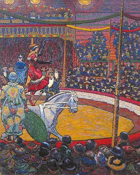 Charles Ginner - The Circus