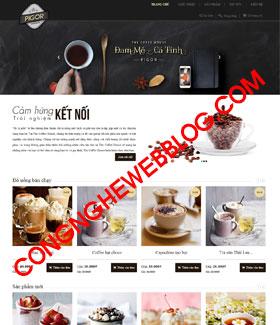 Template blogspot ban hang coffee house