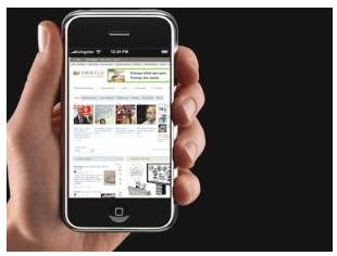 iphone 3G browsing internet